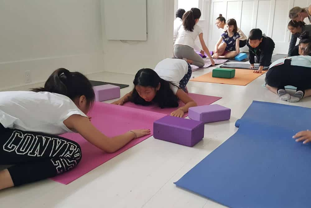 Yoga health benefits for children