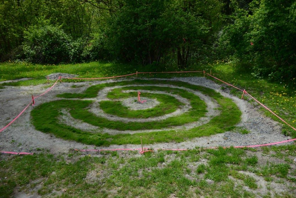 School labyrinth
